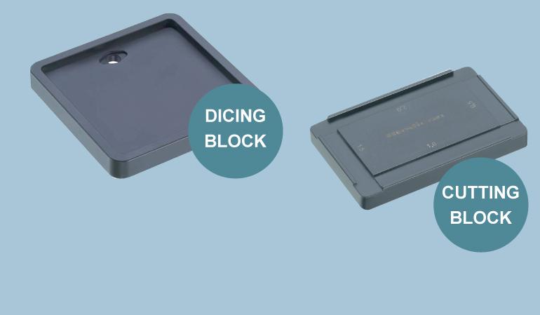 Rhinoplasty Dicing and cutting block